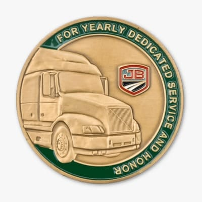 sample challenge coin