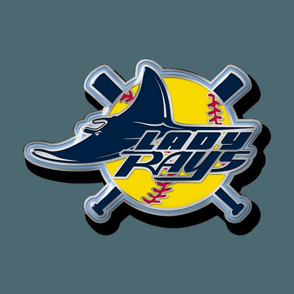 softball trading pin