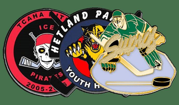 Hockey Trading Pins